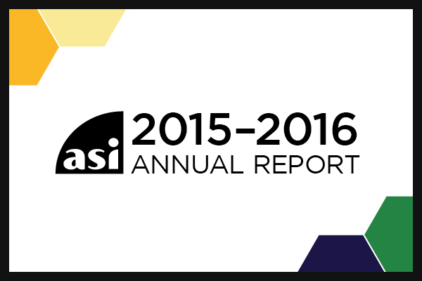 ASI 2015–2016 Annual Report