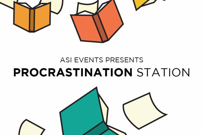 ASI Events Presents Procrastination Station