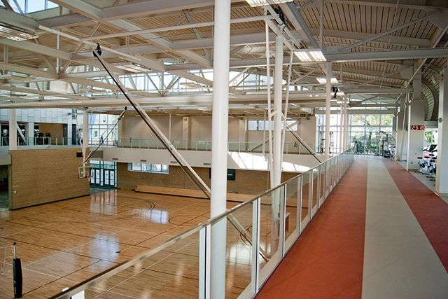 Recreation Center main gym and track
