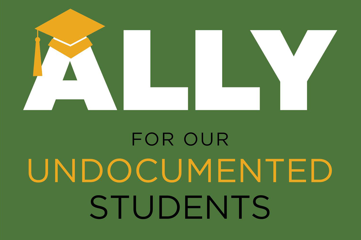 Ally for our undocumented students