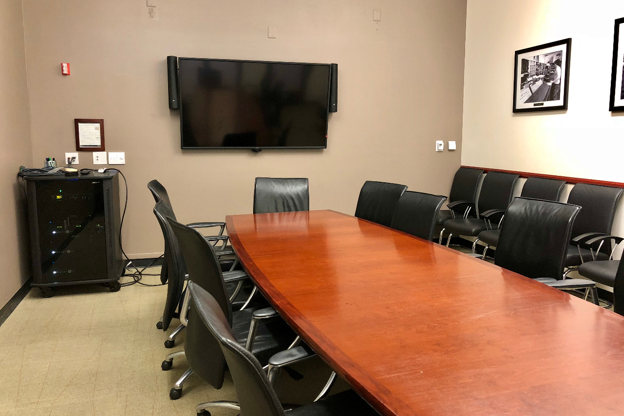 Conference room in the University Union